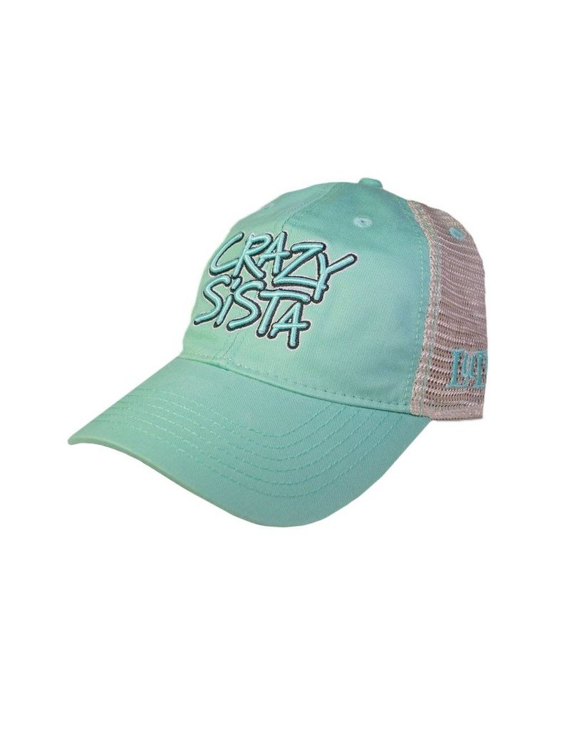 Crazy Sista Logo Trucker Hat