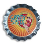 Crazy Sista Crazy Sista Bottle Cap Sign