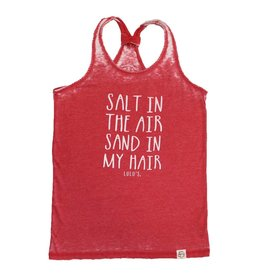 Salt in the Air Racerback Tank