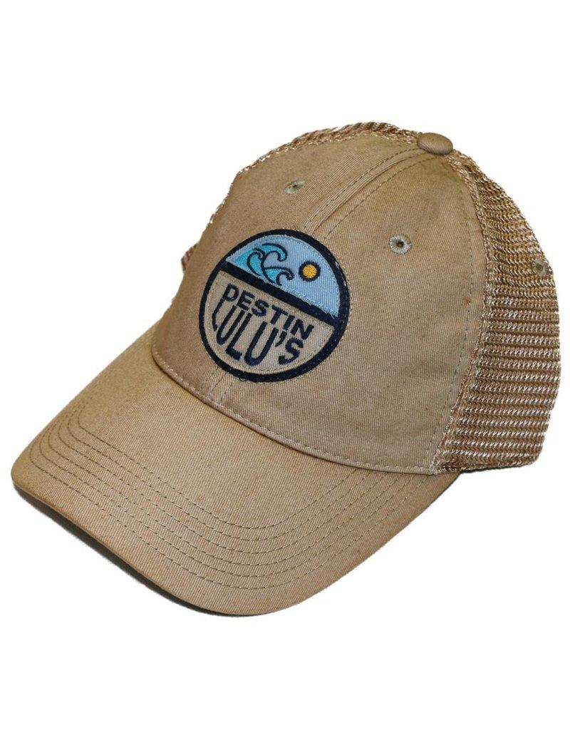 Circle Wave Trucker Hat