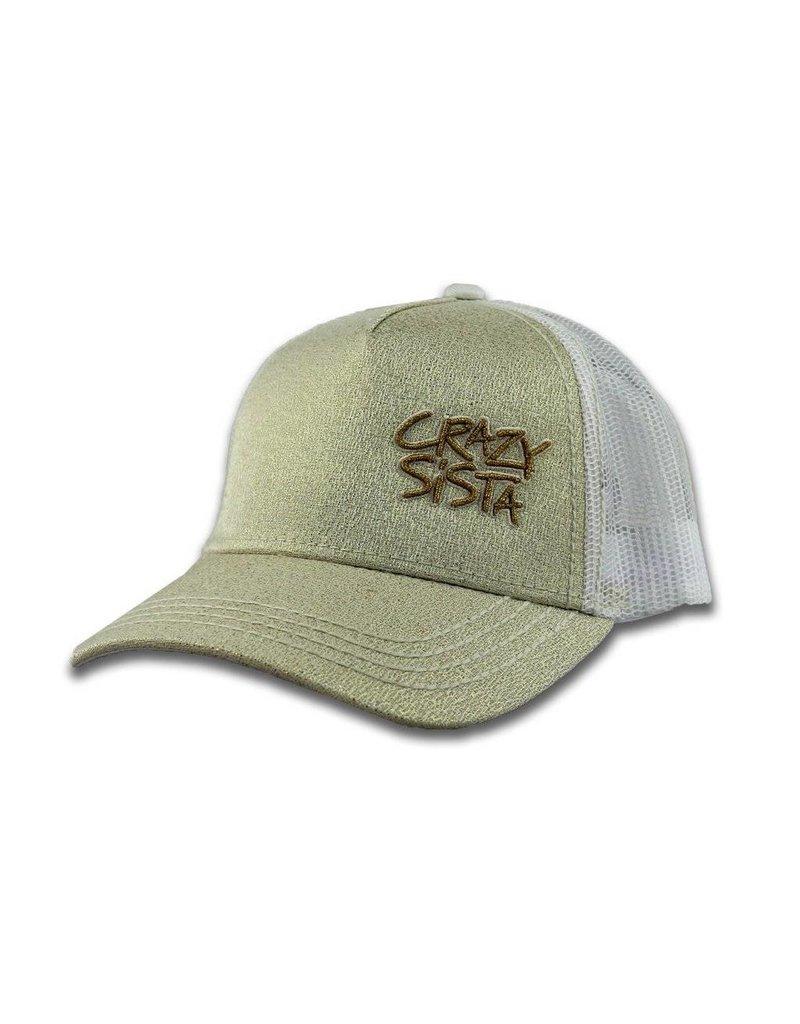 Crazy Sista Crazy Sista Glitter Trucker Hat