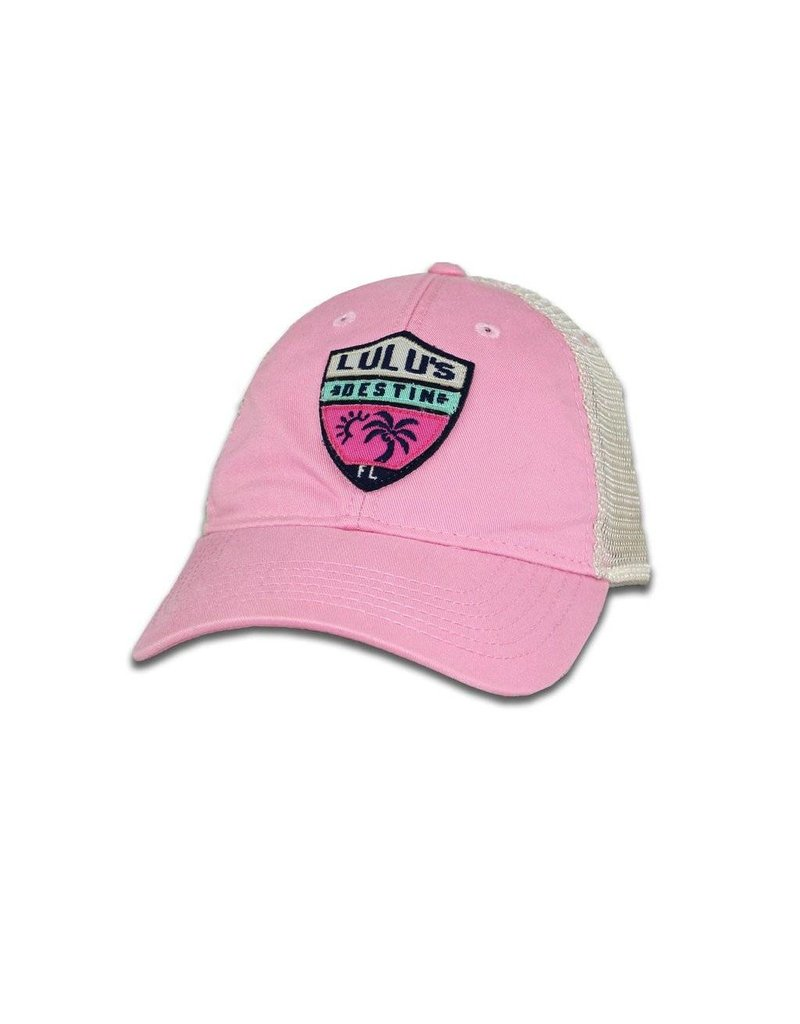 LuLu's Logo NMB Shield Trucker Hat
