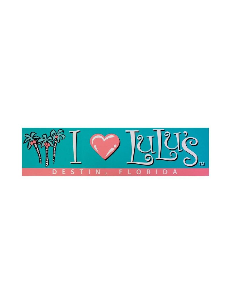 I Heart Lulus Bumper Sticker