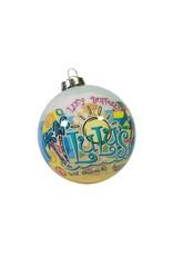 GS/DN Flip Flop Ornament