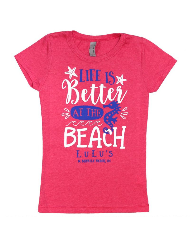 LuLu's GS/DN Youth Better at the Beach Tee