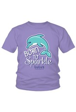 Toddler Born to Sparkle Tee