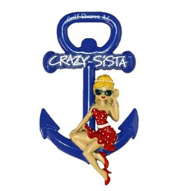Crazy Sista Crazy Sista Anchor Magnet