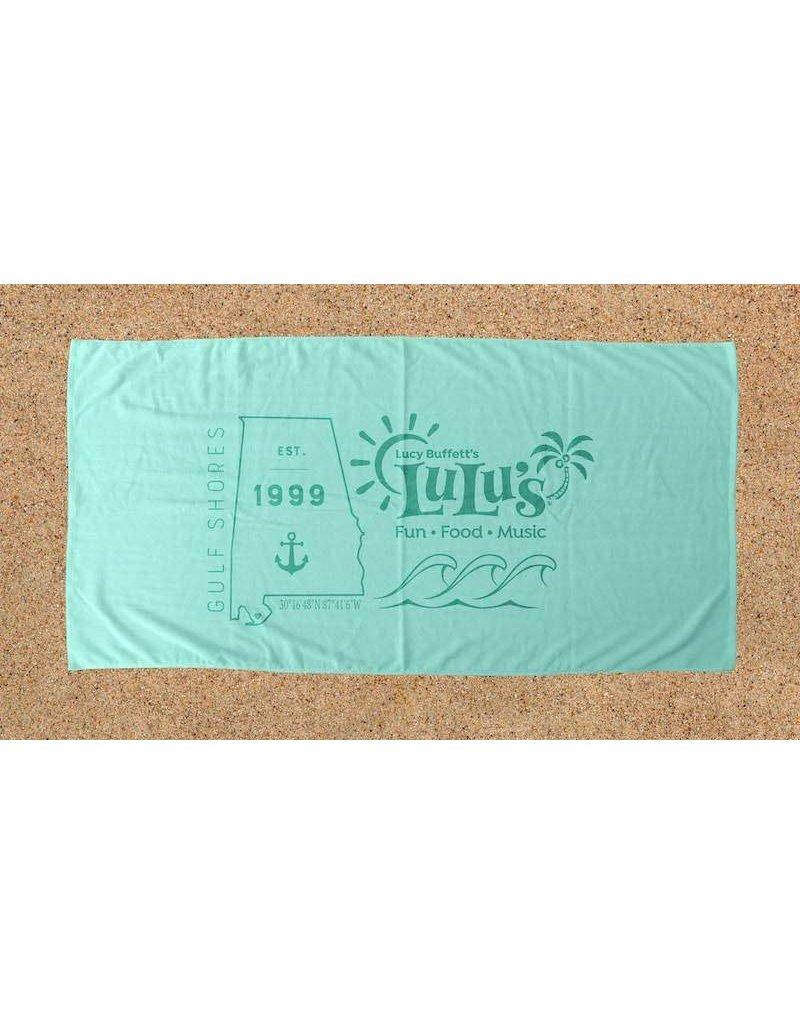 LuLu's Logo NMB State Beach Towels