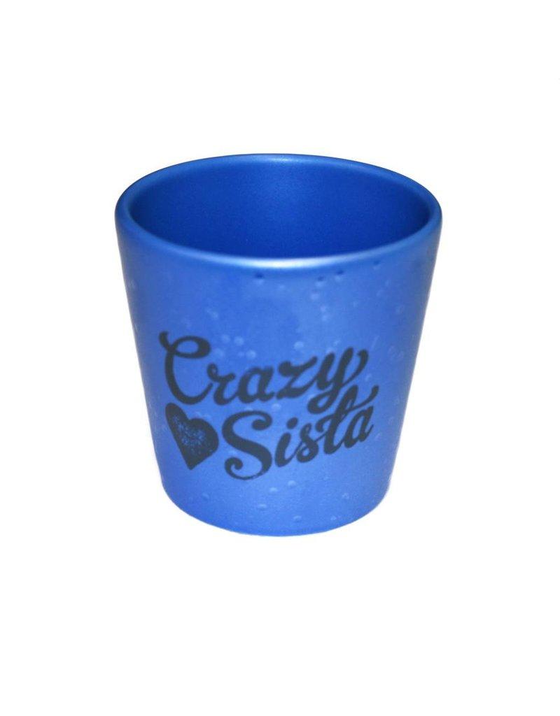 Matte Crazy Sista Shot Glass