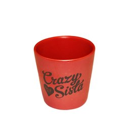 Matte Crazy Sista Shot Glass