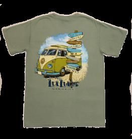 Lulu's Logo Apparel VW Bus Pocket Tee