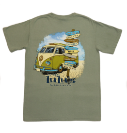 LuLu's Logo Destin VW Bus Pocket Tee