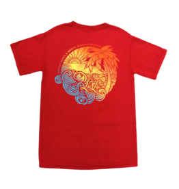 Lulu's Logo Apparel Swirly Palm Tee