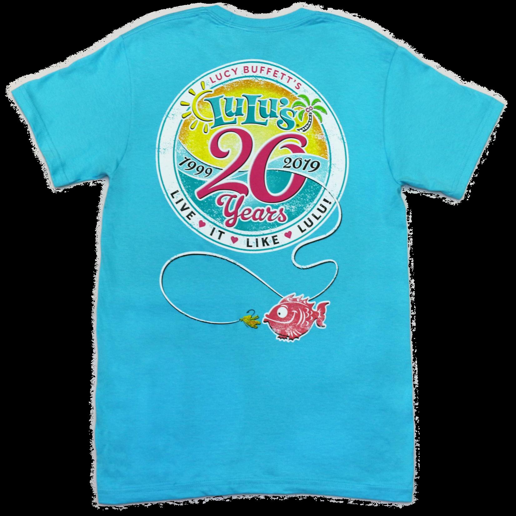 LuLu's Logo 20th Anniversary Logo Tee