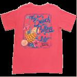 LuLu's Brand Apparel The Beach is Calling Tee