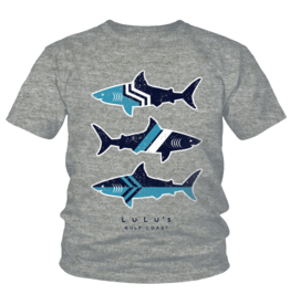 LuLu's GS/DN Toddler Edge Shark Tee