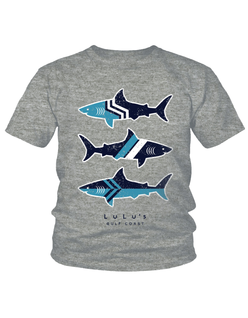 Toddler Edge Shark Tee