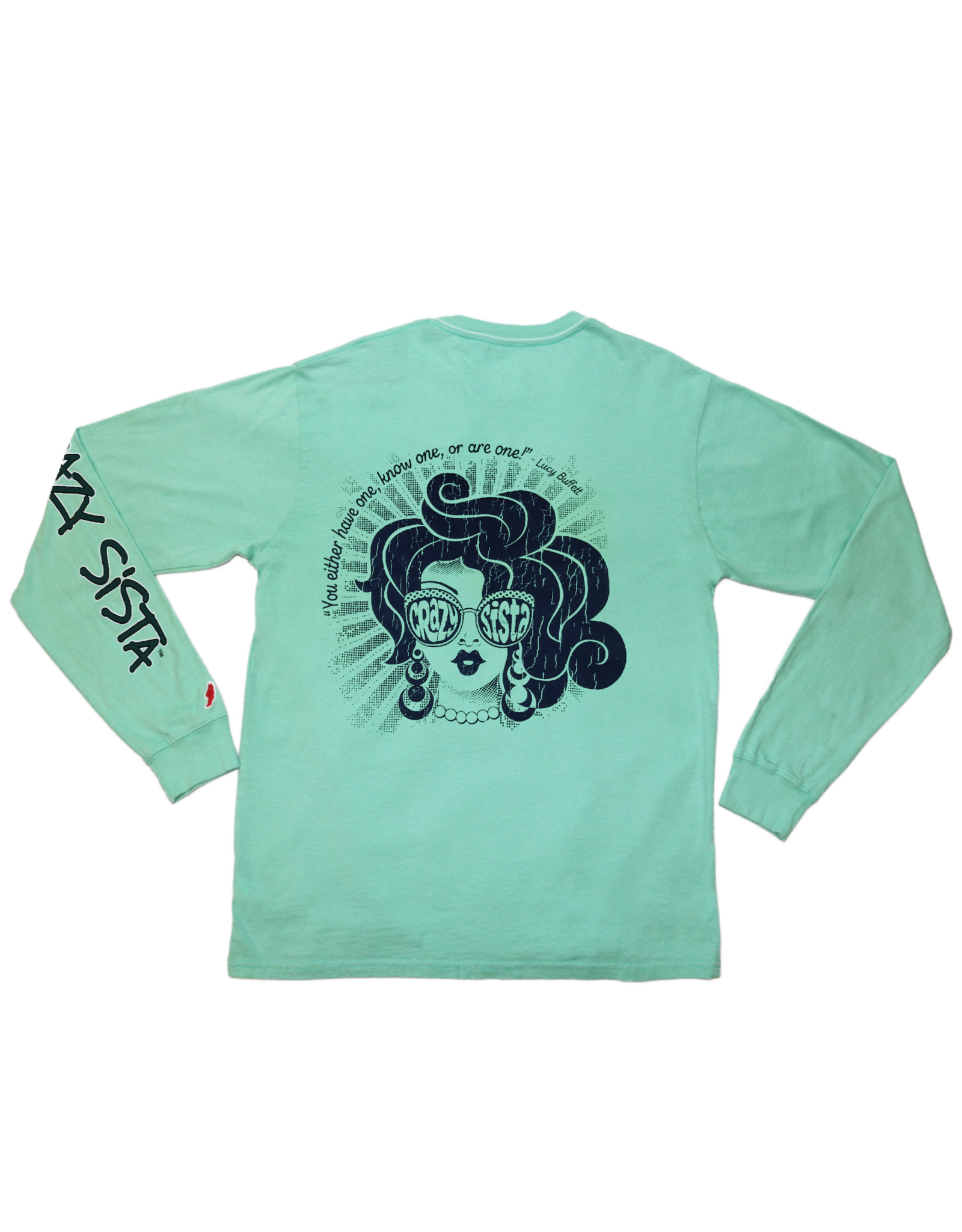 Crazy Sista Crazy Sista Pocket Long Sleeve