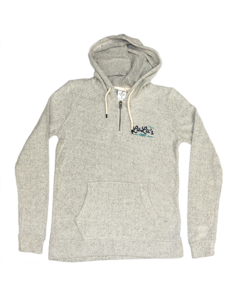 Terry Hooded Quarter Zip