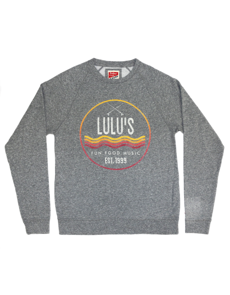 Circle Waves Crew Sweatshirt