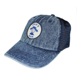 LuLu's Logo NMB Circle Palms Trucker Hat
