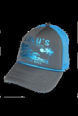 Metallic Waves Braided Trucker Hat