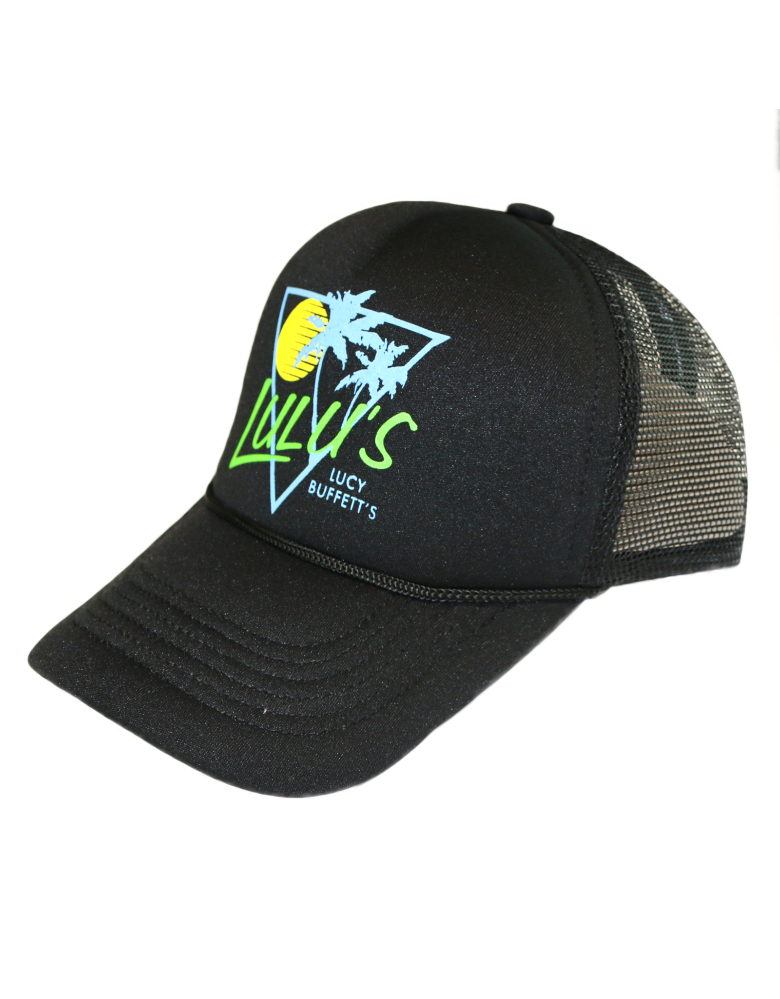 Rising Sun Braided Trucker Hat