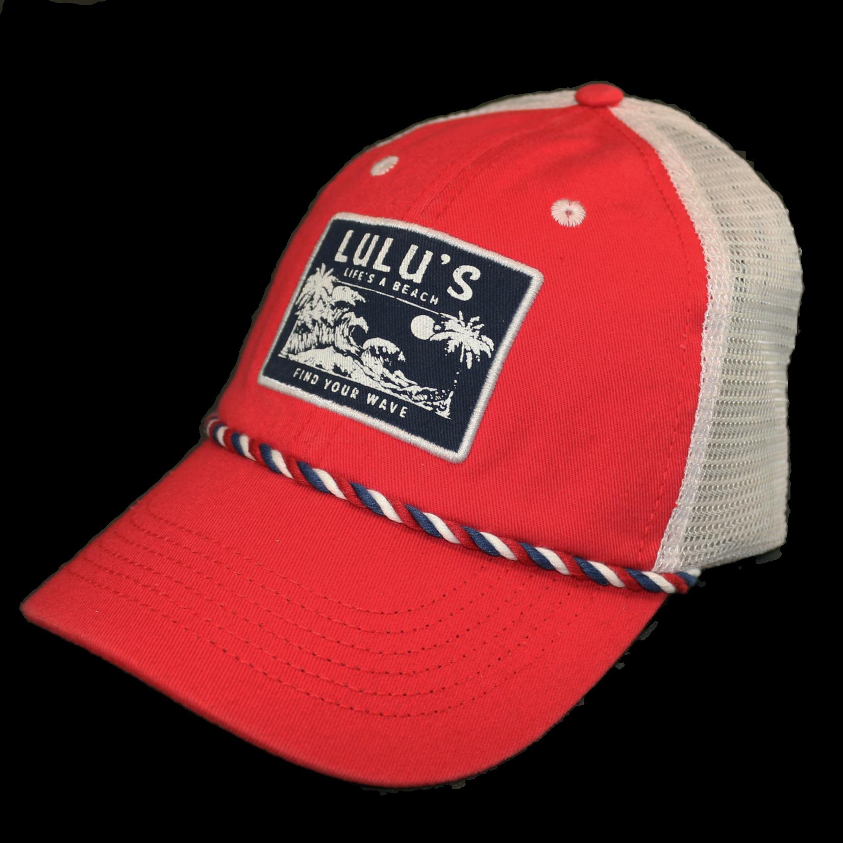 Lifes a Beach Braided Trucker Hat