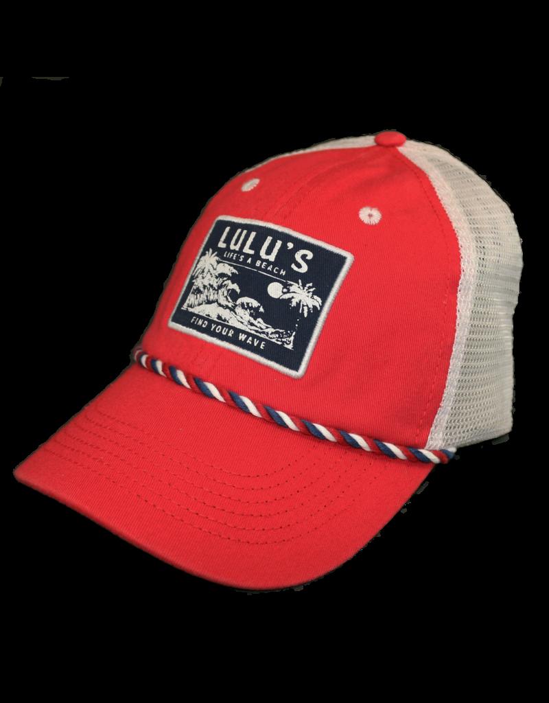 c4cc39f2e3672a Lifes a Beach Braided Trucker Hat - Shop LuLu Buffett