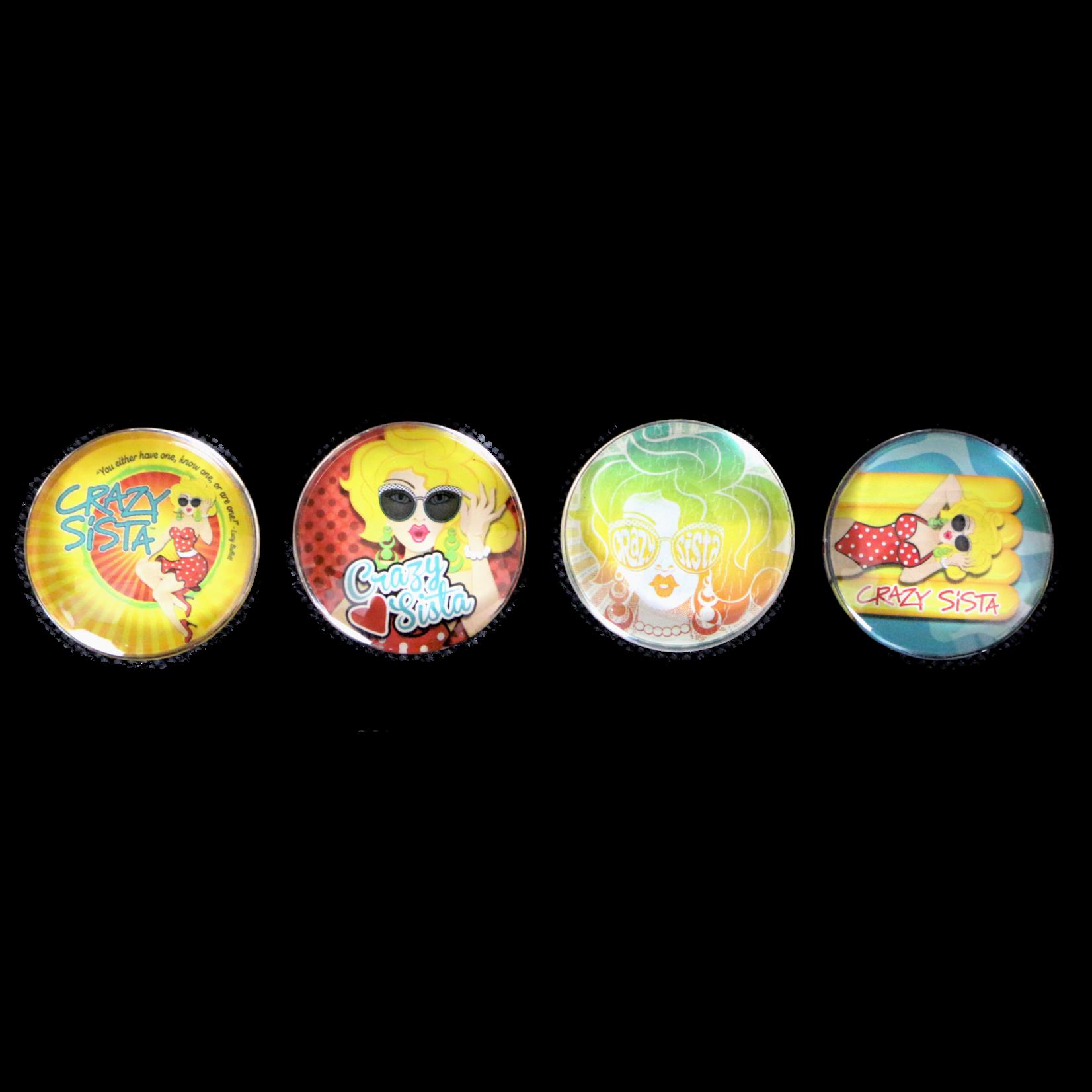 Crazy Sista Crazy Sista Designs Magnet