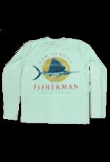 Old School Fisherman Performance Long Sleeve