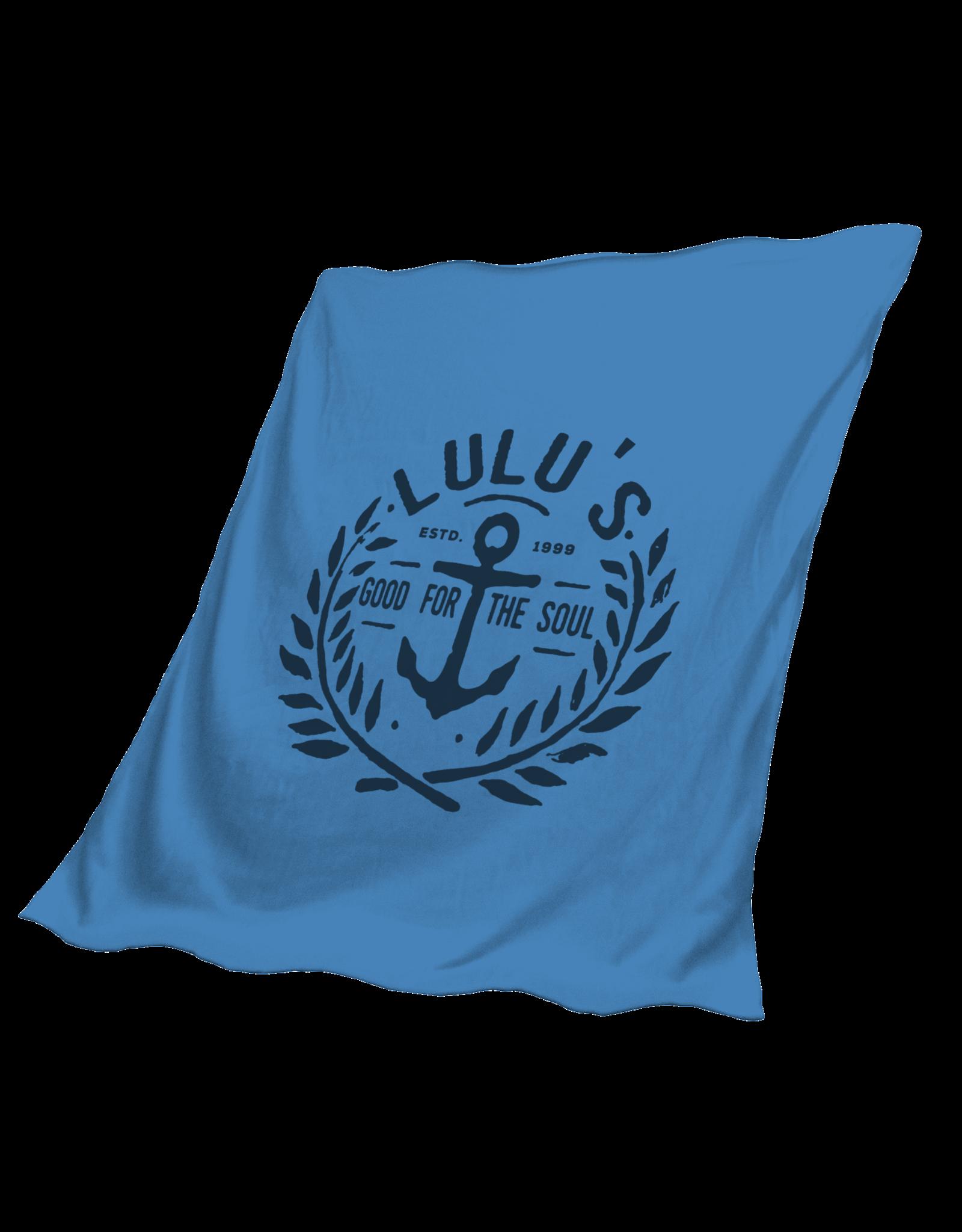 Anchor Stadium Fleece Blanket