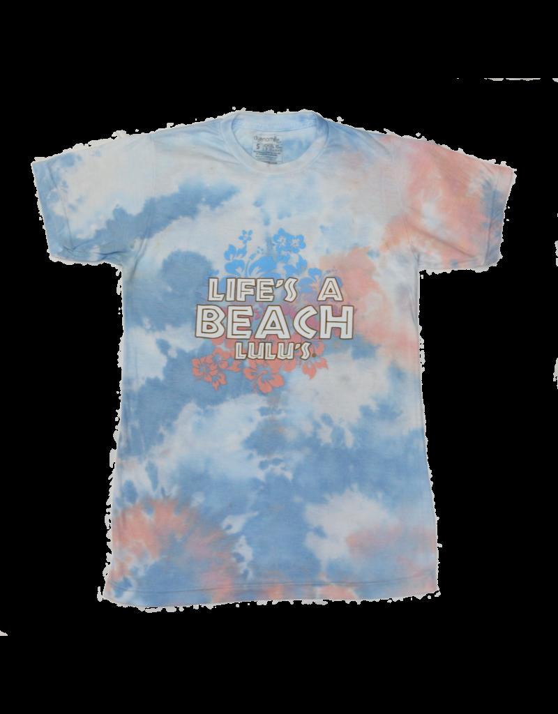 Lifes a Beach Tie Dye Tee