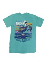 Lulu's Logo Gulf Shores Kind of Day Pelican Tee
