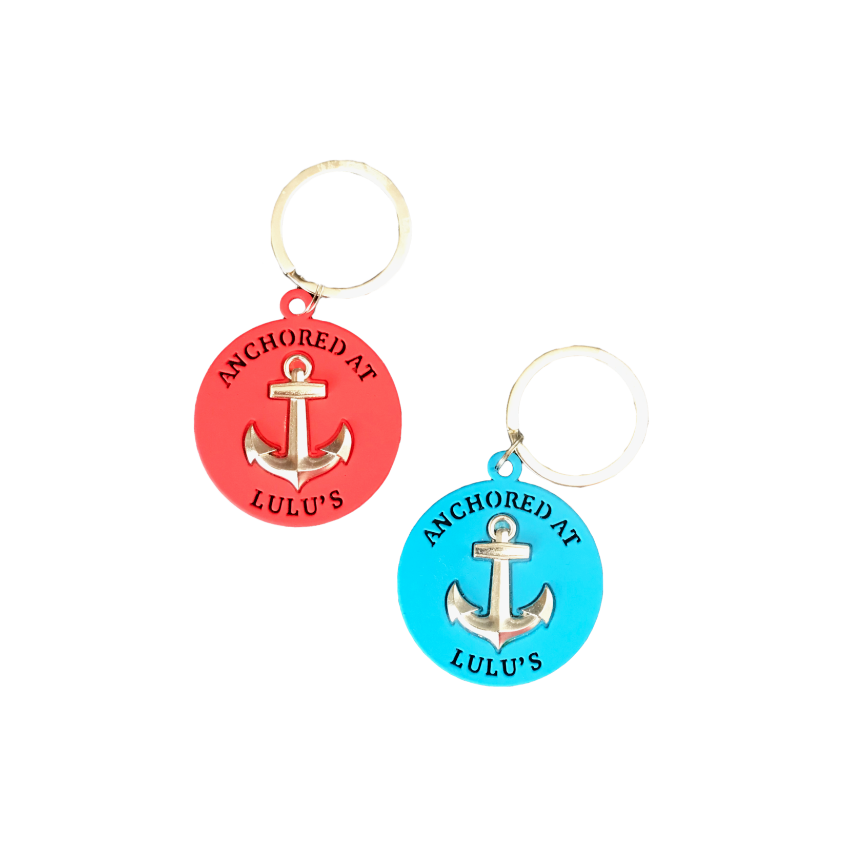 Metal Anchor Keychain