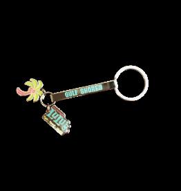 LuLu's Logo NMB Keychain Stick w/Charms