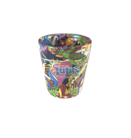 Hippie Art Shot Glass