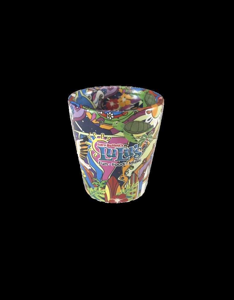 Hippie Art Shot Glass