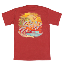 LuLu's Sunset Palm Tee