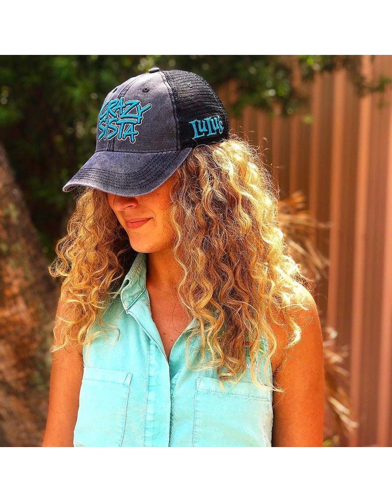 Crazy Sista Crazy Sista Logo Trucker Hat
