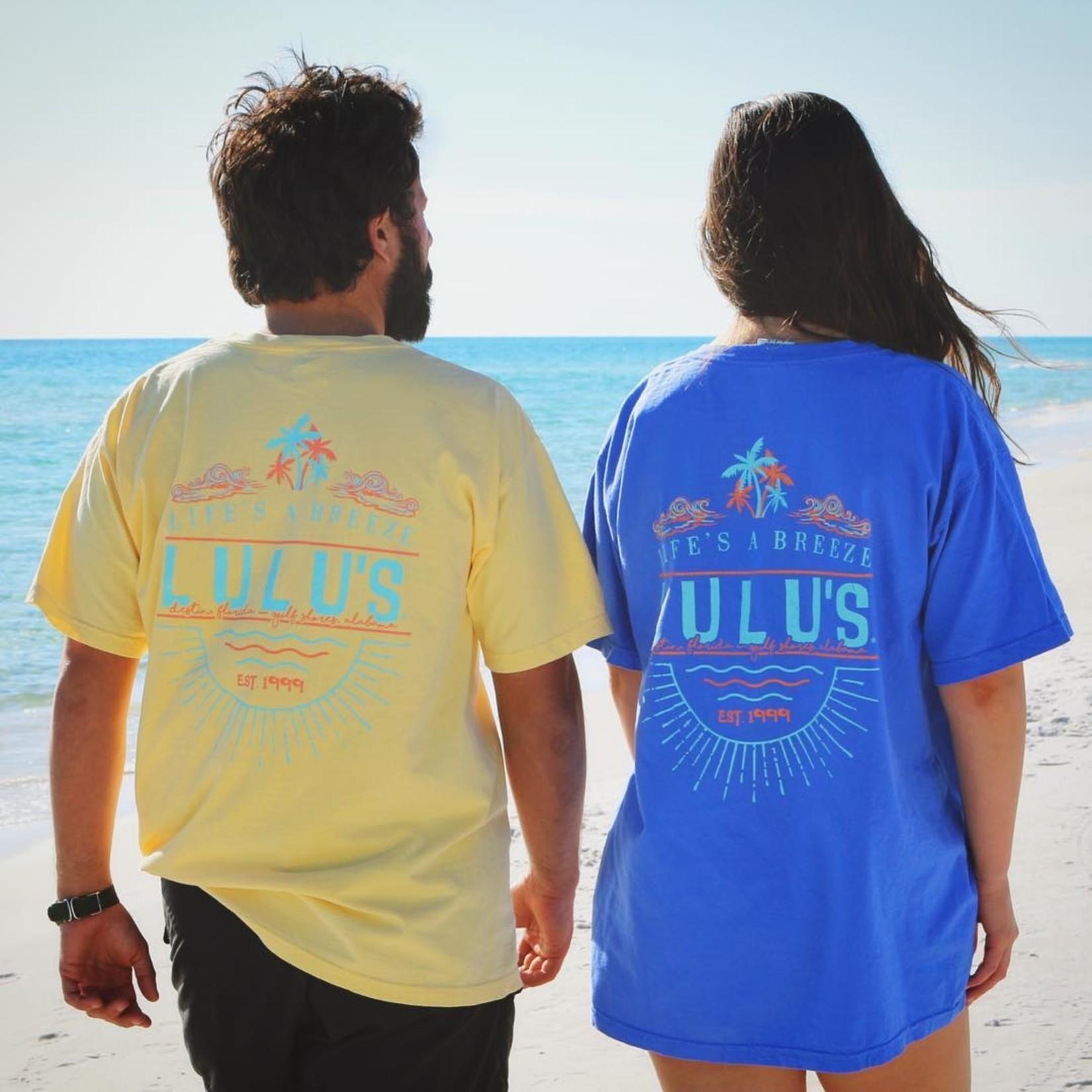 LuLu's Brand Apparel Lifes A Breeze Tee