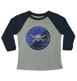 Youth Pirate Baseball Tee