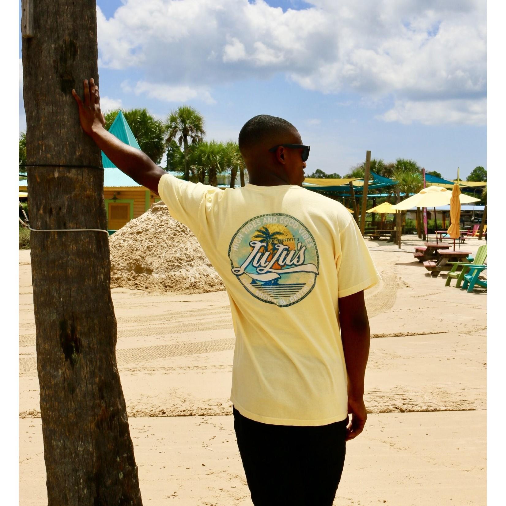 LuLu's Brand Apparel High Tides Circle Tee