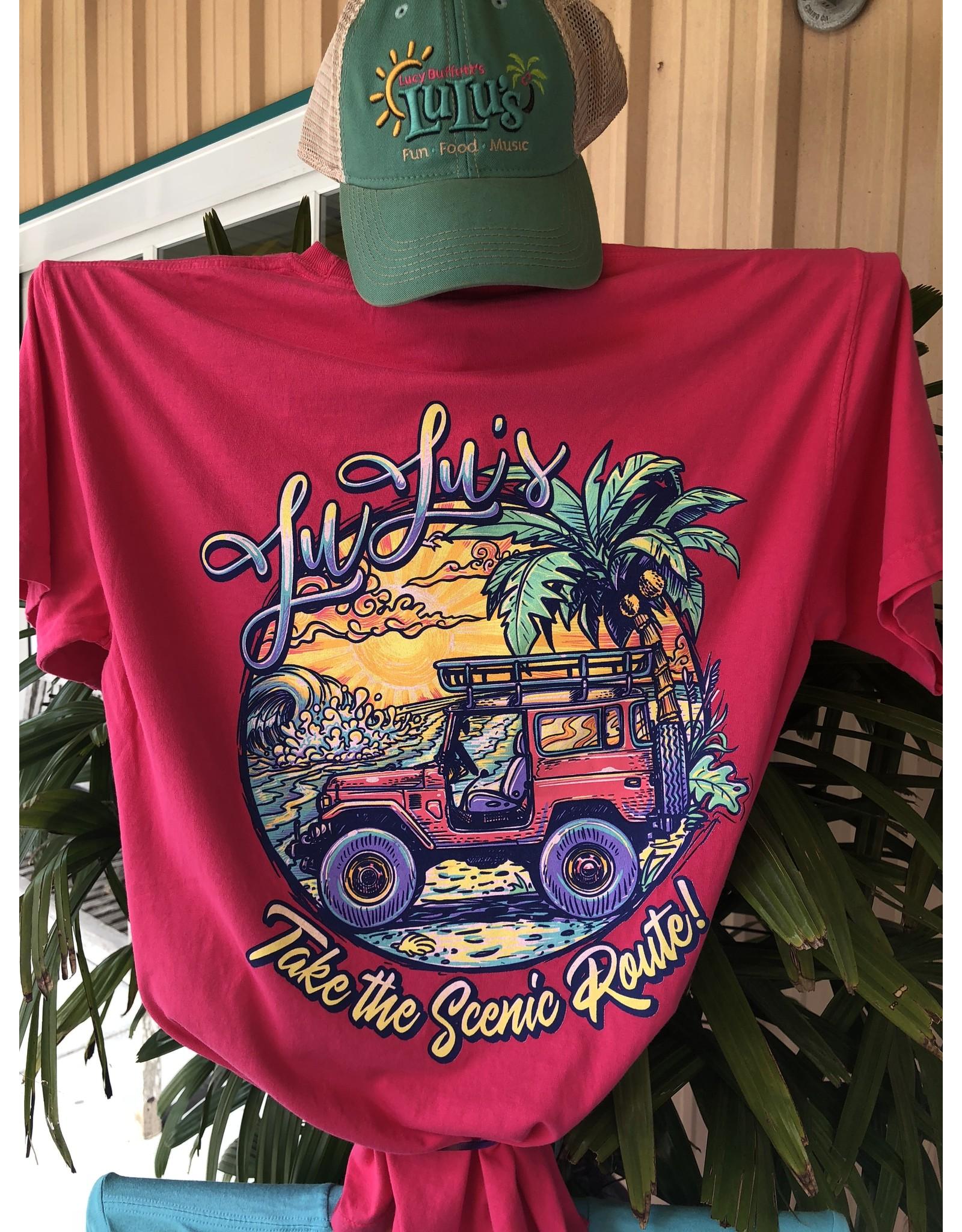 LuLu's Jeep Tee