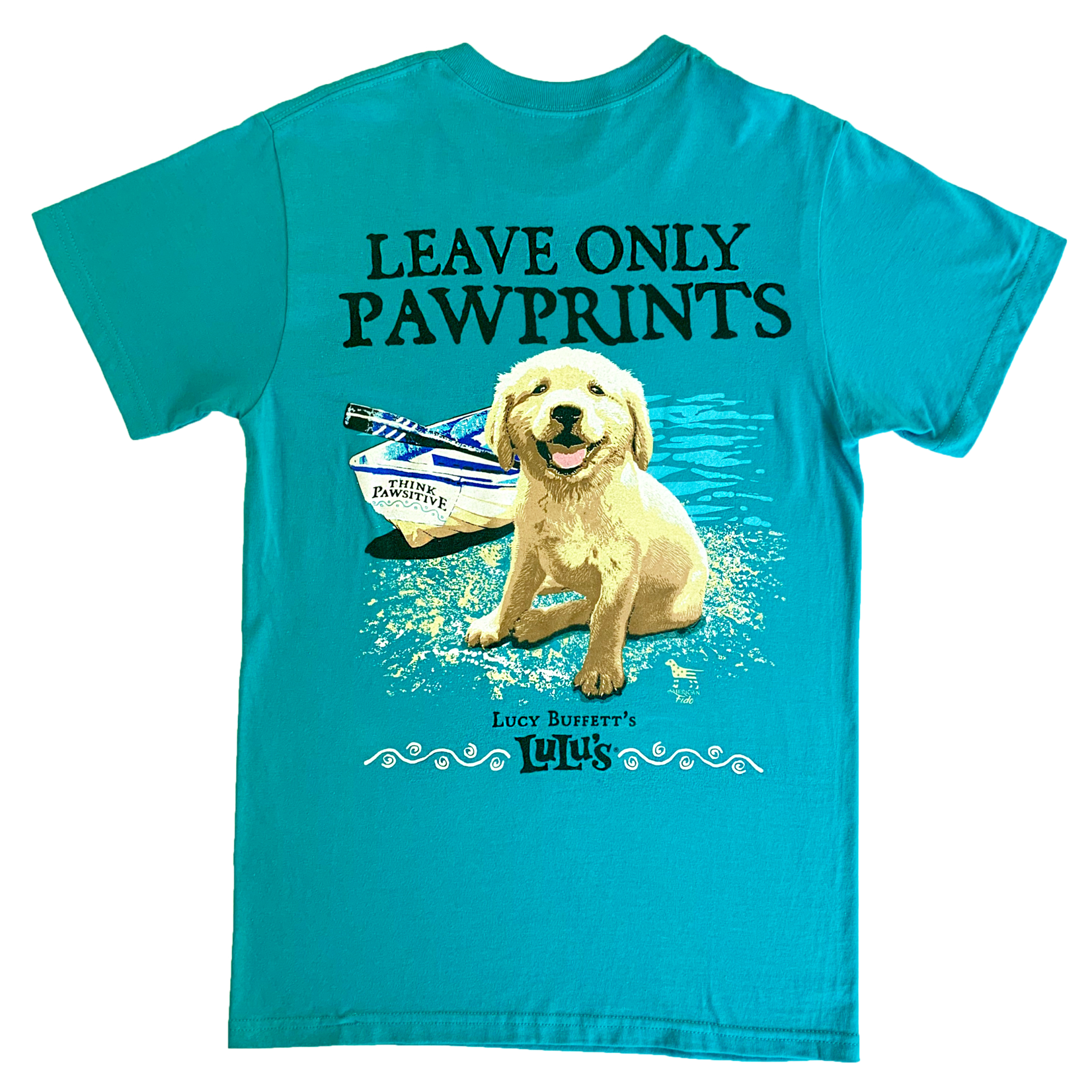 Leave Only Pawprints Tee