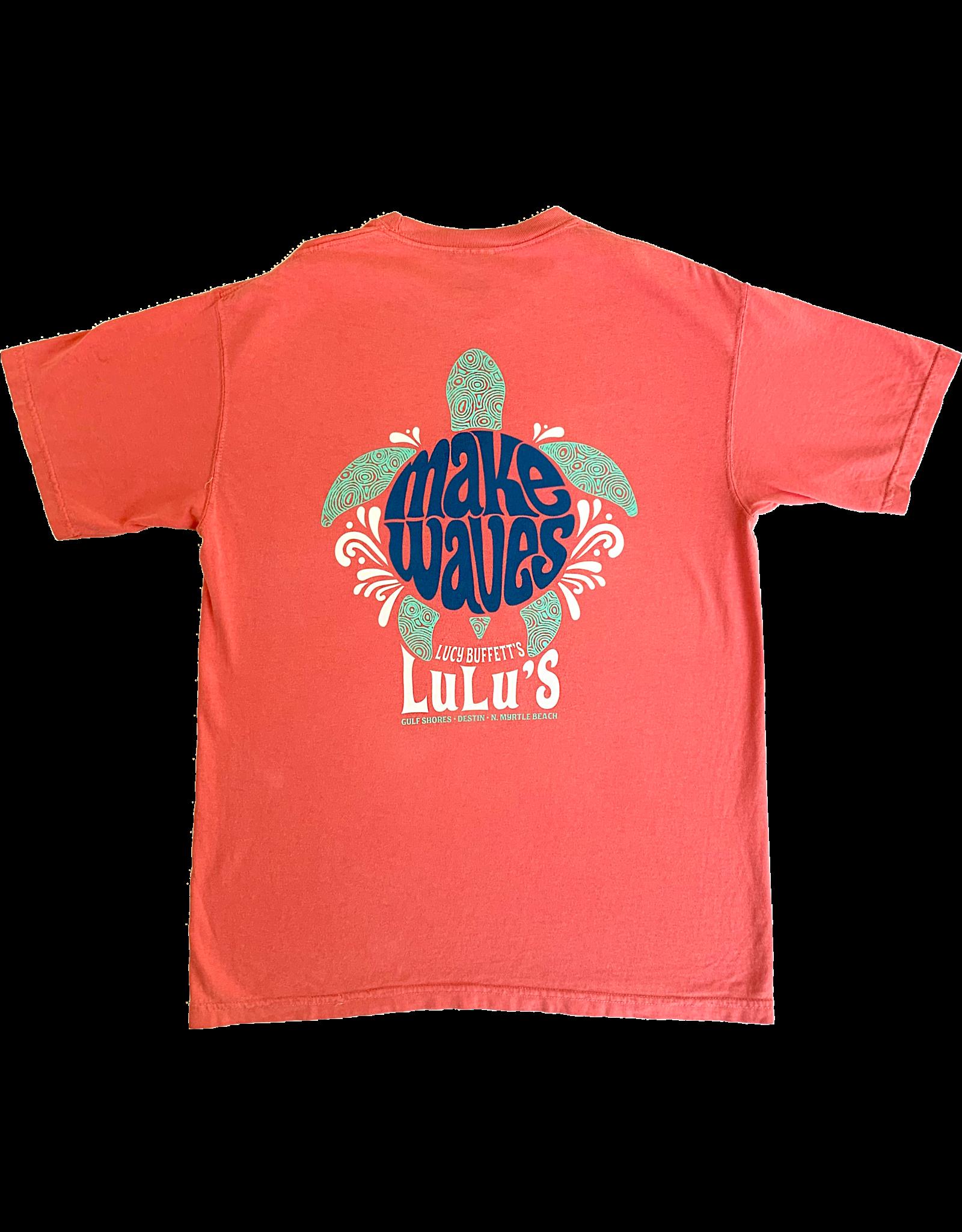 Make Waves Turtle Tee