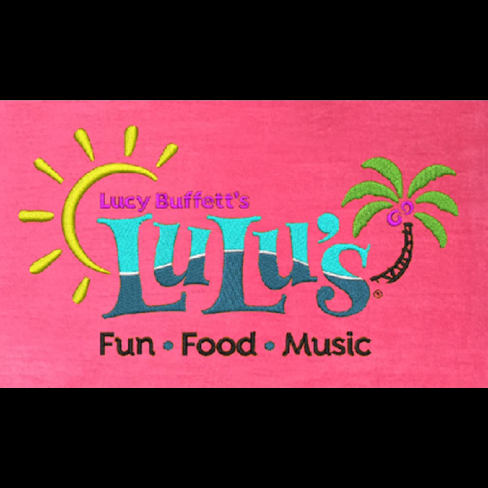LuLu's Logo Logo Beach Towel
