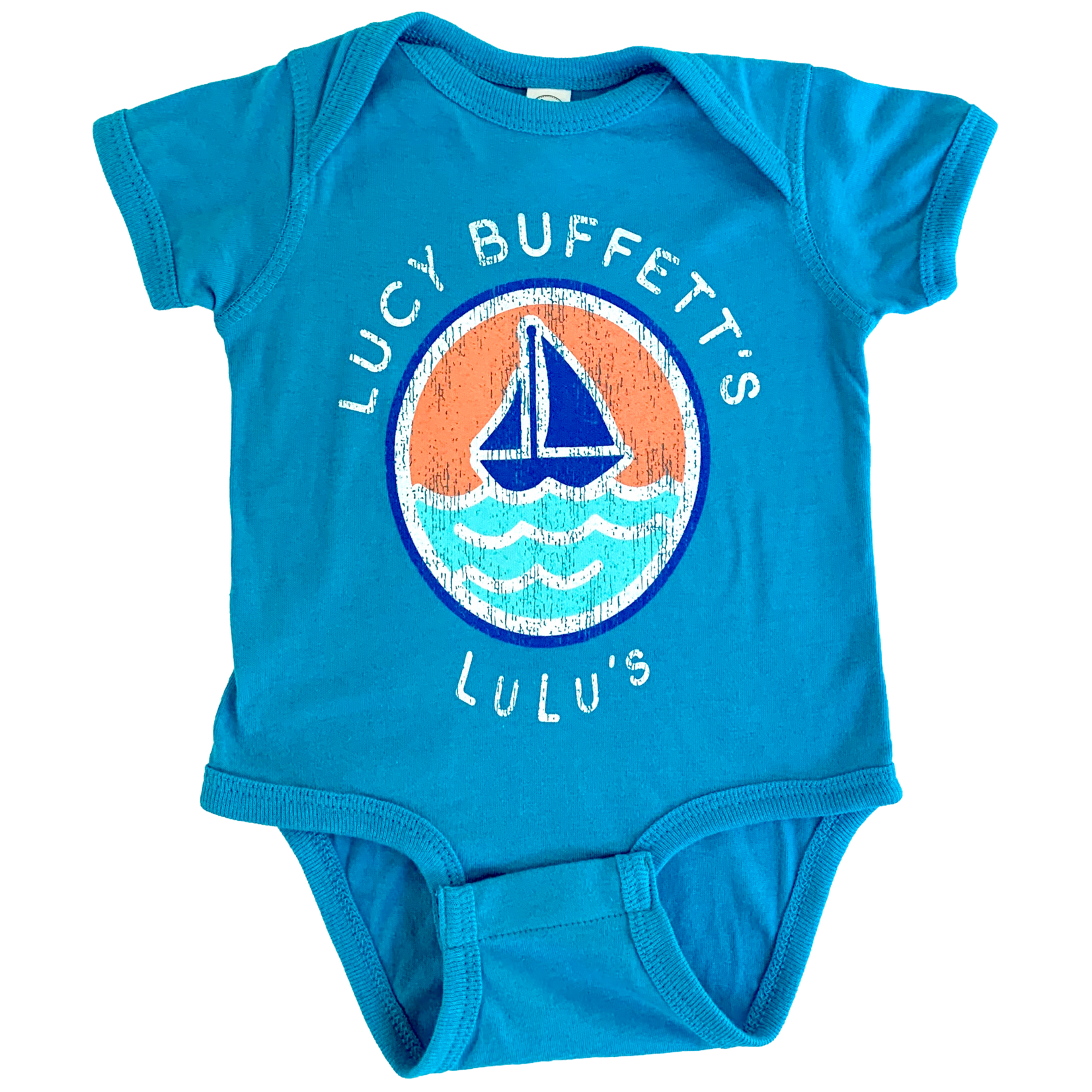 Infant Telescope Sailboat Onesie