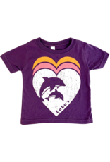 Infant Triple Heart Dolphin Tee