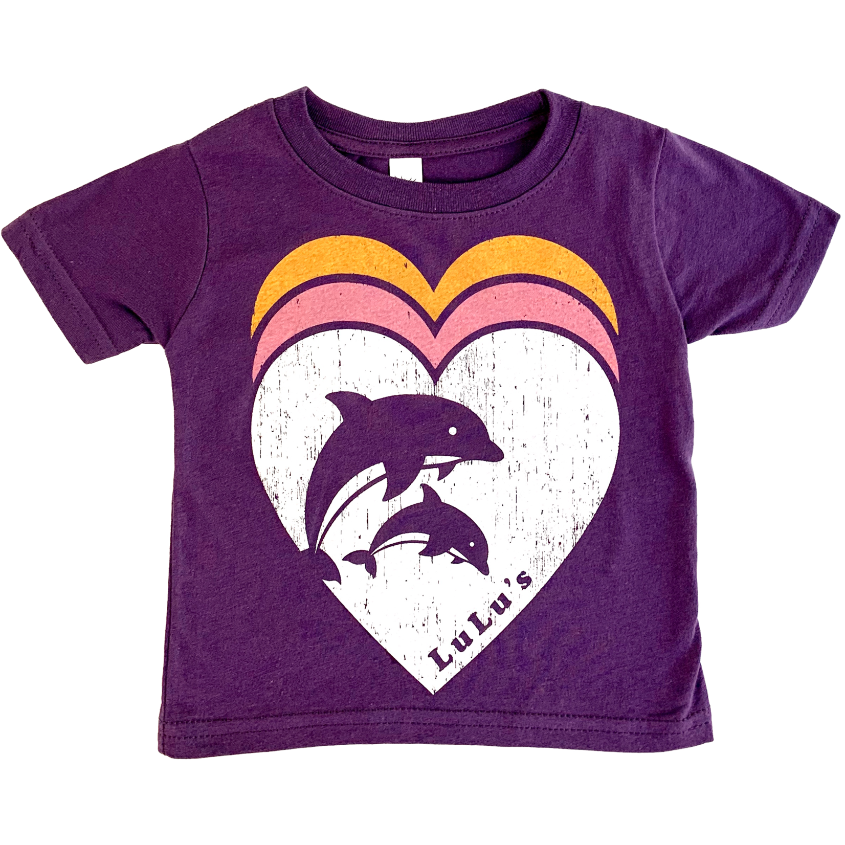 Infant Triple Heart Dolphin Tee